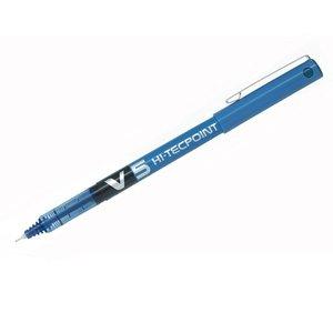 Comprar Rotulador punta aguja Pilot V5 trazo 0,3mm azul