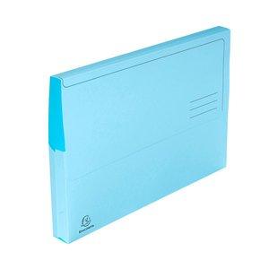 Comprar Pack 10 subcarpetas con bolsa 210g 24x32cm azul