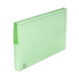 Comprar Pack 10 subcarpetas con bolsa 210g 24x32cm verde