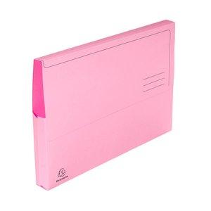 Comprar Pack 10 subcarpetas con bolsa 210g 24x32cm rosa