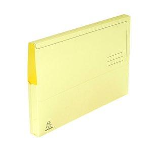 Comprar Pack 10 subcarpetas con bolsa 210g 24x32cm amarillo