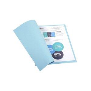 Comprar Pack de 100 subcarpetas de cartulina FOREVER 220 220g azul claro