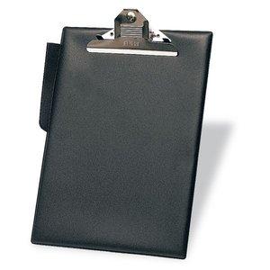 Comprar Portapapeles pvc con Pinza con portaBolígrafos folio negro