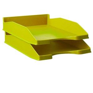 Comprar Bandeja fondo liso apilable en 3 posiciones verde