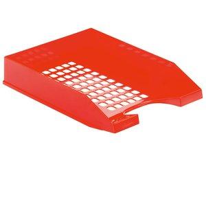 Comprar Bandeja apilable plástico gran calidad rojo