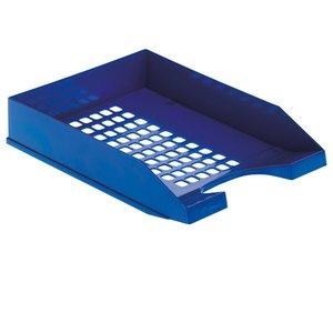 Comprar Bandeja apilable plástico gran calidad azul