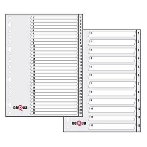 Comprar Indice numérico con carátula 1-31 PP Dequa A4