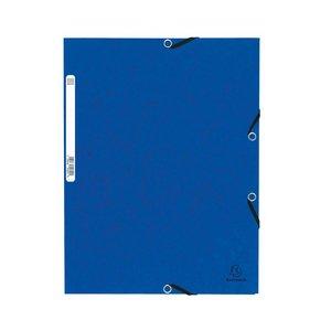 Comprar Carpeta con gomas y 3 solapas Nature Future 355g azul