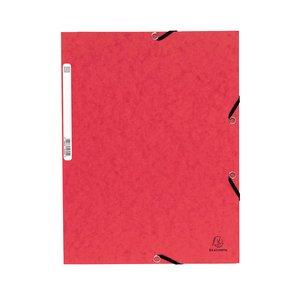 Comprar Carpeta con gomas y 3 solapas Nature Future 355g rojo
