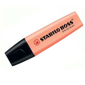 Comprar Marcador fluorescente Stabilo Boss pastel trazo 5mm melocotón sedoso