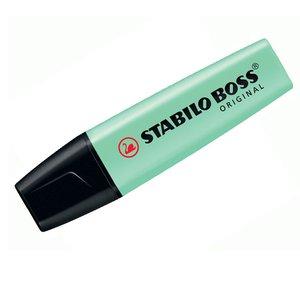 Comprar Marcador fluorescente Stabilo Boss pastel trazo 5mm pizca de menta