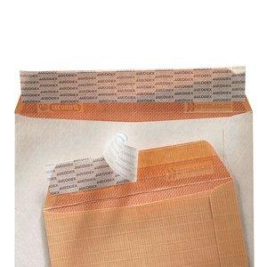 Comprar Caja 100 bolsas kraft armado marrón cuarto prolongado 184x261mm 120grs