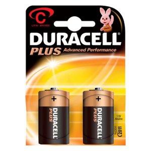 Comprar Blister 2 pilas duracell alcalina plus C