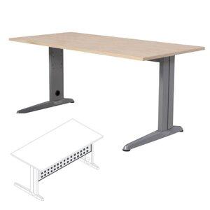 Comprar Faldón metálico para serie Metal para mesa 140cm. gris