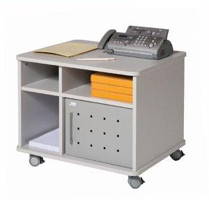 Comprar Mesa multiusos móvil de melamina 72x59x57,5 cm gris