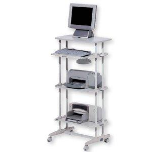 Comprar Mesa ordenador móvil de estructura metálica 67x49x128cm