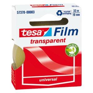Comprar Cinta adhesiva transparente Tesafilm® 33m x 19mm en mancheta
