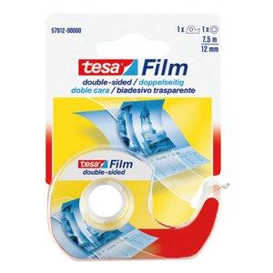 Comprar Rollo cinta adhesiva doble cara transparente Tesafilm® con dispensador 7,5m x 12mm