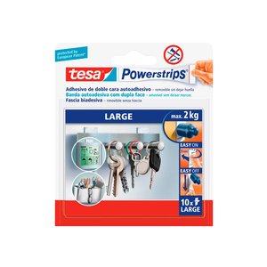 Comprar Tiras adhesivas doble cara grandes Powerstrips, 10 unidades
