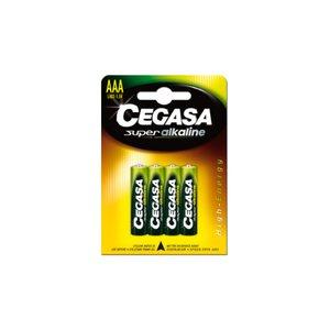 Comprar Blister 4 pilas Cegasa super alcalina AAA LR03