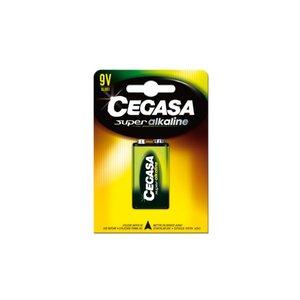 Comprar Pila Cegasa super alcalina 9V 6LR61