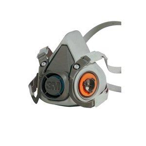 Comprar 6200 Mitja Màscara Reutilitzable 3M ™ amb 2 Filtres (Connexió Baioneta)