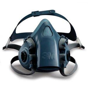 Comprar 7502 Mitja Màscara Reutilitzable 3M ™ amb 2 Filtres (Connexió Baioneta)