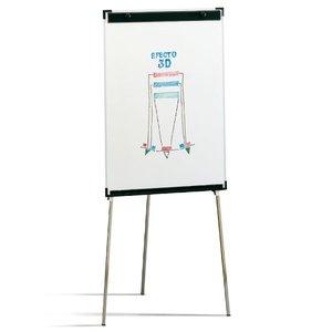 Comprar Pizarra caballete Faibo con marco y cantoneras decorativas 70x102cm para rotulador y papel