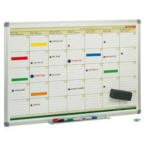 Comprar Planning Faibo magnético mensual 60X90cm