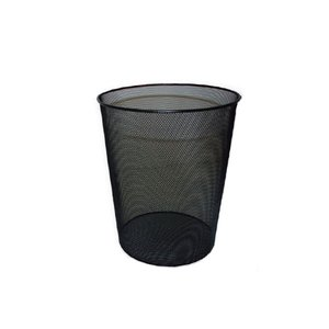 Comprar Papelera metálica de rejilla 24x34cm 18 litros negra