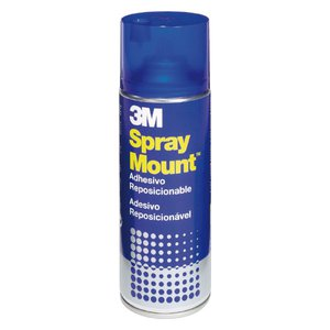 Comprar Adhesivo reposicionable en aerosol 3M spray mount 400ml
