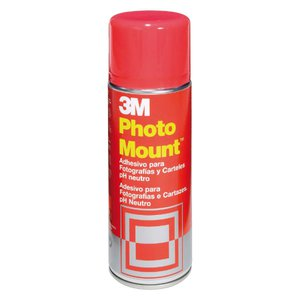 Comprar Adhesivo permanente en aerosol 3M photo mount 400ml