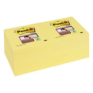 Comprar Bloc notas Post-it super sticky 76x76mm amarillo
