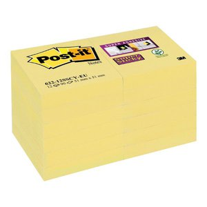 Comprar Bloc notas Post-it super sticky 76x127mm amarillo