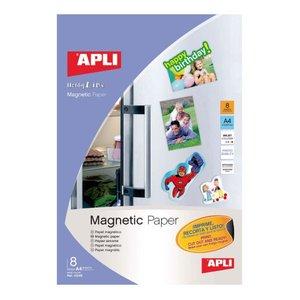 Comprar Pack 8h papel magnético para Ink-jet A4