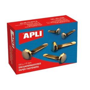 Comprar Caja 100 encuadernadores sin arandela 17mm