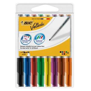 Comprar Bolsa 8 marcadores Velleda 1741 colores surtidos