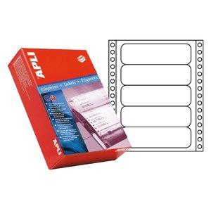 Comprar Pack 4000 etiquetas Apli matricial 101,6x36mm salida 1 etiq