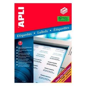 Comprar Caja 250 etiquetas Apli impresora láser 210x297mm