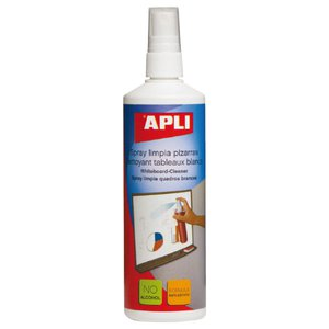 Comprar Limpiador spray pizarra Apli 250 ml
