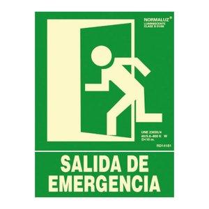 Comprar Señal normalizada salida de emergencia 30x22,4cm