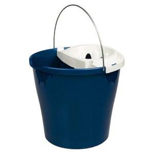 Comprar Cubo de limpieza plástico con escurridor 12l azul