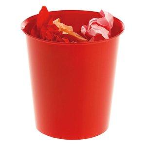 Comprar Papelera polipropileno rojo