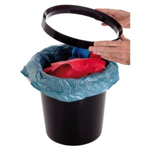 Comprar Aro sujeta bolsas para papelera negro