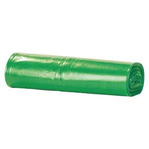 Comprar Rollo de 15 bolsas de basura con autocierre 55x60cm verde