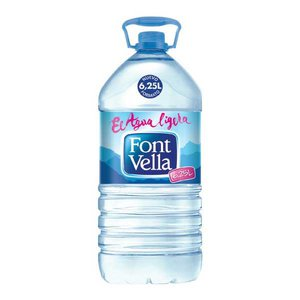 Comprar Garrafa agua Font Vella 6,25 litros