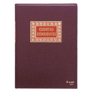 Comprar Libro cuentas corrientes Dohe forrado tela 100h folio natural