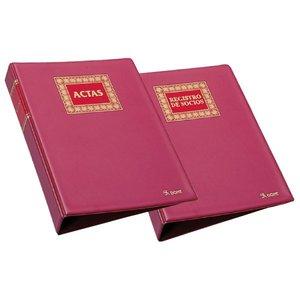 Comprar Libro actas Dohe hojas móviles 100h recambiables a4