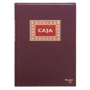 Comprar Libro de caja Dohe forrado en tela 100h numeradas folio natural