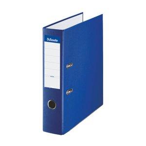 Comprar Archivador plástico forrado folio 75mm azul